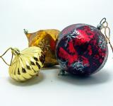 Free Photo - Colorful Christmas balls