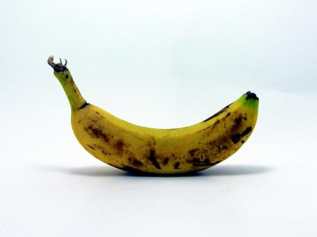 Yellow banana - Free Stock Photo
