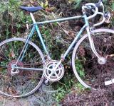 Free Photo - Decayed Morrison Blue Ten Speed Bike