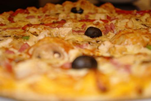 Closeup pizza - Free Stock Photo