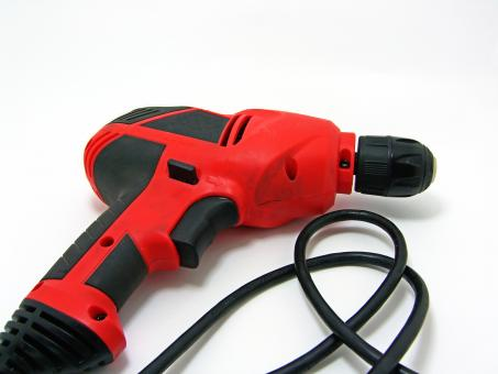 Red drill - Free Stock Photo
