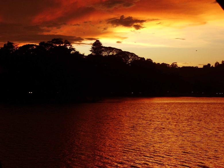 Darknes of the Kandy Lake Free Photo