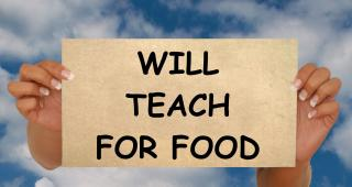 Teach for Food Free Photo