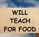 Free Photo - Teach for Food