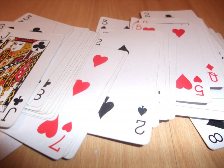 Free Stock Photo of Playing Cards Created by Amy West