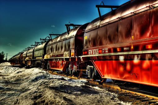 HDR Train - Free Stock Photo