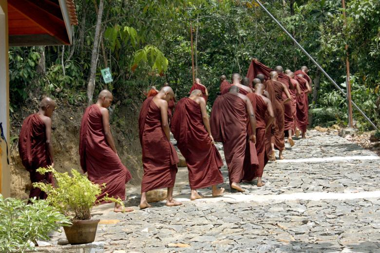 Free Stock Photo of Sri lanka Monks Created by Sahan Ishara