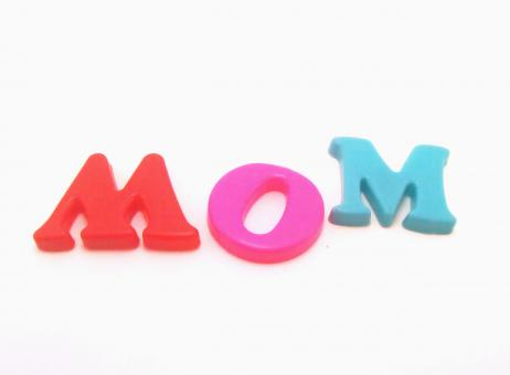 Plastic letters - Mom - Free Stock Photo