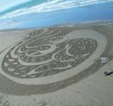 Sand painting - Free Stock Photo