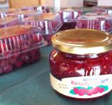 Free Photo - Jar of Raspberry Jam at Butlers Fruit sh
