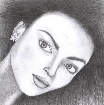 Aishwarya Rai Sketch - Free Stock Photo