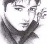 Free Photo - Male Model Sketch