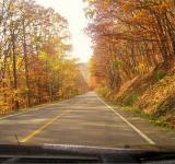 Free Photo - God Bless Two Lane Roads and Fall Foilag
