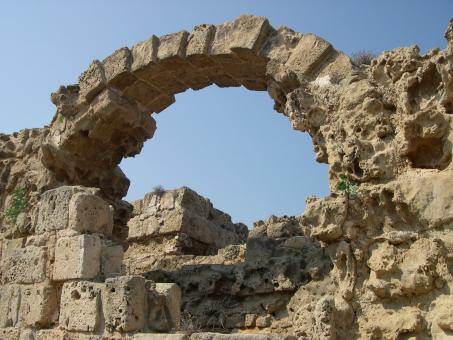 Roman archway - Free Stock Photo