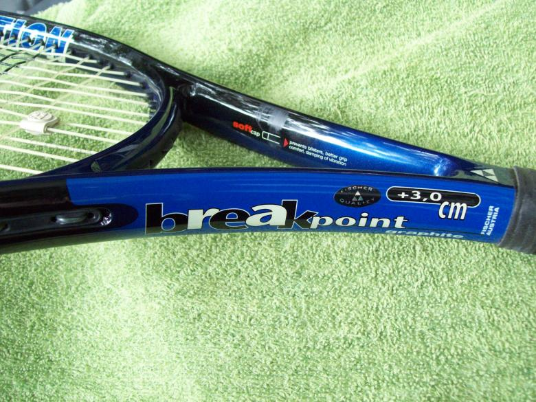 Free Stock Photo of Tennis the game - Blue Racket Created by Peter Alexander Robb