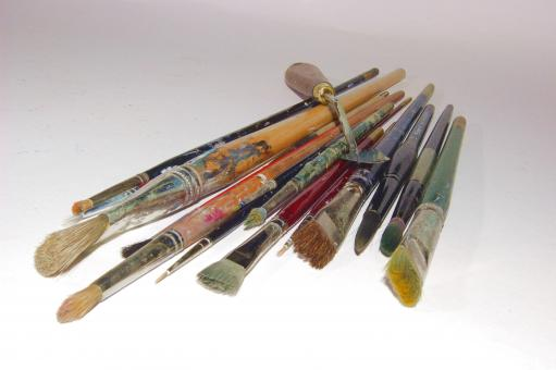 Brushes - Free Stock Photo