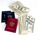 Free Photo - Money and passports