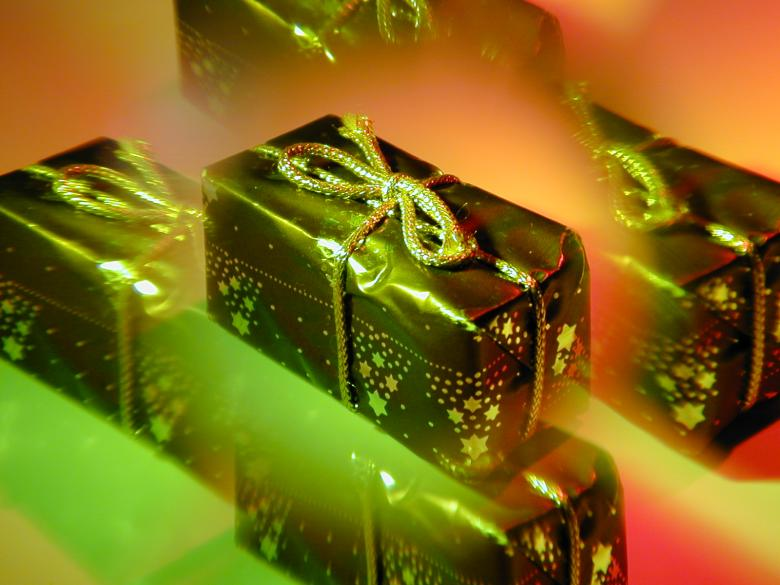 Free Stock Photo of Christmas Present Created by freeimageslive