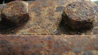 Rusted bolts Free Photo