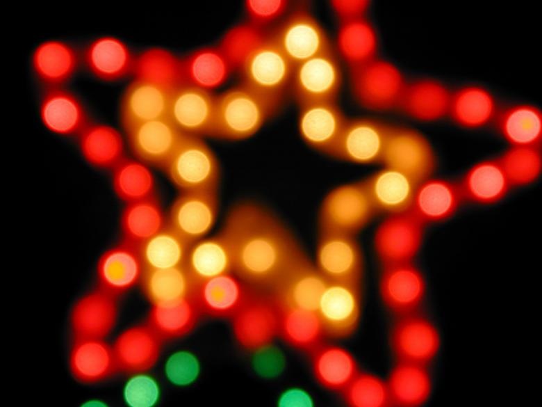 Free Stock Photo of Bokeh Stars Created by freeimageslive