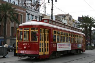 New Orleans Trolley Free Photo