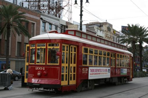 New Orleans Trolley - Free Stock Photo