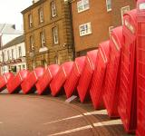 Free Photo - Collapsing Telephone Boxes