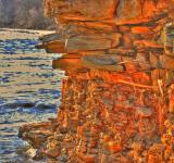 Free Photo - Golden cliff