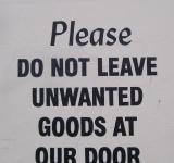 Free Photo - Lovely sign outside furniture shop