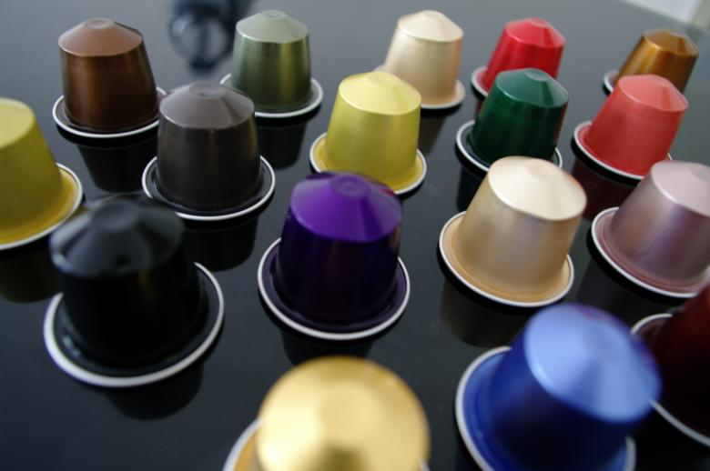 Free Stock Photo of Coffee capsules