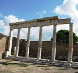 Free Photo - Temple of Trajan in Pergamon Turkey