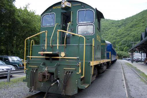 Jim Thorpe Train - Free Stock Photo