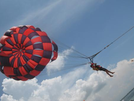 Paragliding - Free Stock Photo