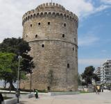 Free Photo - White tower in Salonica