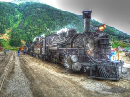 Durango-Silverton Train - Free Stock Photo
