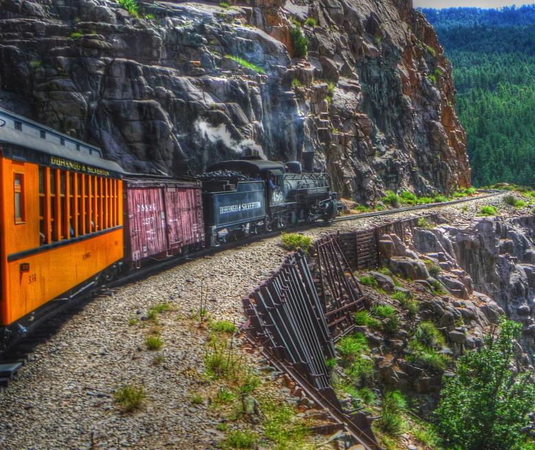 Durango-Silverton Train Free Photo