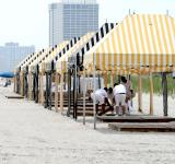 Free Photo - Gazebos At The Beach