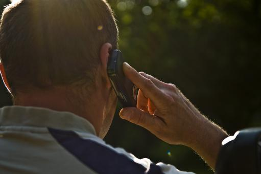 Cell phone calling man - Free Stock Photo