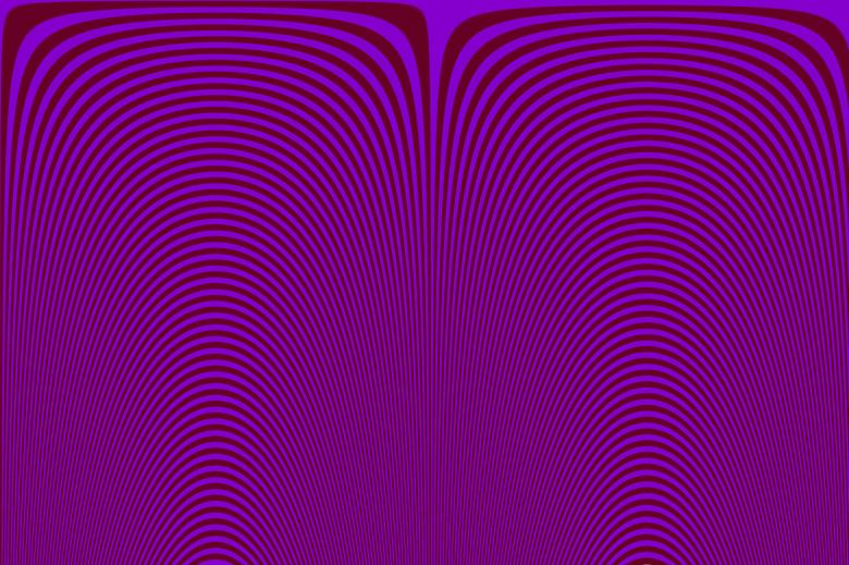 Free Stock Photo of Purple Interference stripes Created by Creativity103