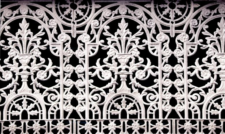 Free Stock Photo of Wrought Iron Fence Created by Creativity103