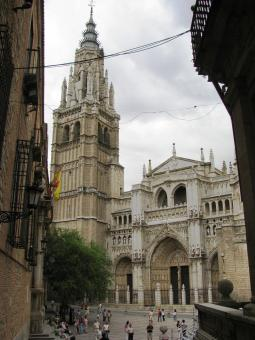 Old cathedral in Toledo - Free Stock Photo