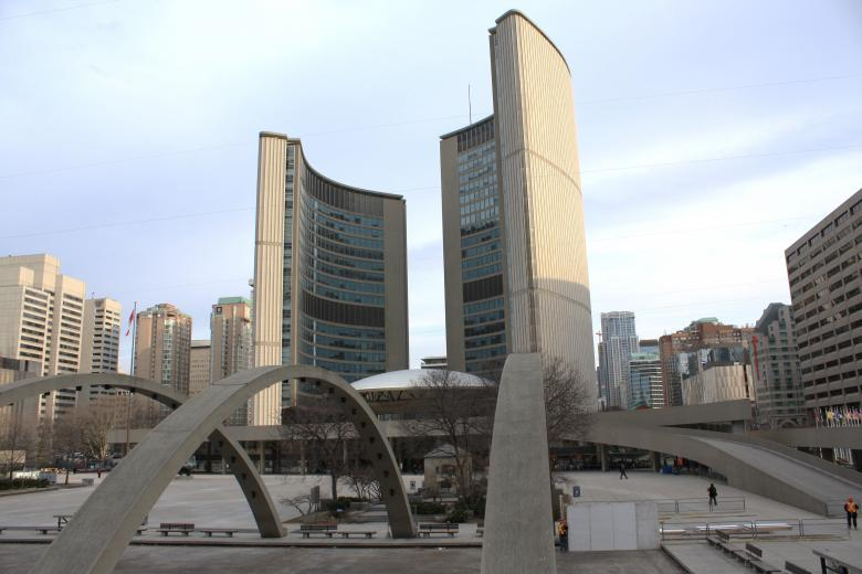 Free Stock Photo of Toronto City hall Created by Tony Ryta
