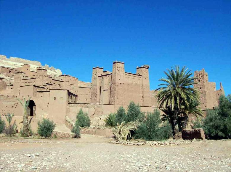 Free Stock Photo of Kasbah Castle Created by Ad Photos