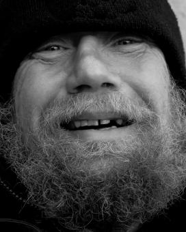 Smiling Homeless - Free Stock Photo