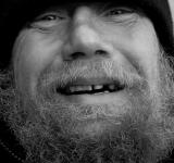 Free Photo - Smiling Homeless