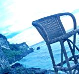 Free Photo - The chair above the sea