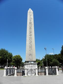 Egyptian obelisk in Istanbul - Free Stock Photo