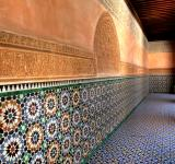 Free Photo - Arabic Wall Design