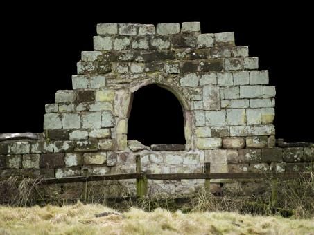 Old Castle wall window - Free Stock Photo