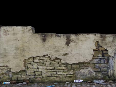 Grungy old wall urban decay - Free Stock Photo